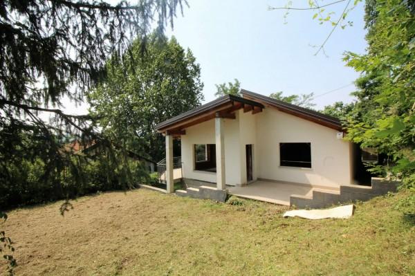 Villa in vendita a Caselette, Semi-centrale, Con giardino, 170 mq
