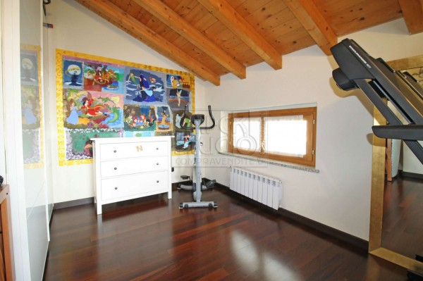 Appartamento in vendita a Cassano d'Adda, Stazione, 120 mq - Foto 14