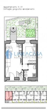 Casa indipendente in vendita a Milano, Mm Piazza Abbiategrasso, Con giardino, 65 mq - Foto 3