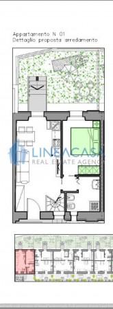 Casa indipendente in vendita a Milano, Mm Piazza Abbiategrasso, Con giardino, 65 mq - Foto 11