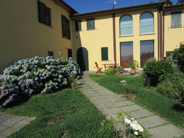 Villetta a schiera in vendita a Pistoia, Convento Di Giaccherino, Con giardino, 166 mq