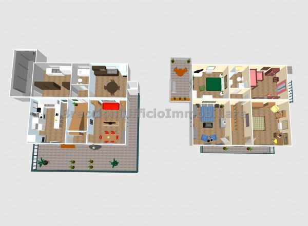 Casa indipendente in vendita a Trevi, Pigge, Con giardino, 180 mq - Foto 4