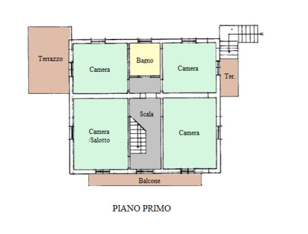 Casa indipendente in vendita a Trevi, Pigge, Con giardino, 180 mq - Foto 22