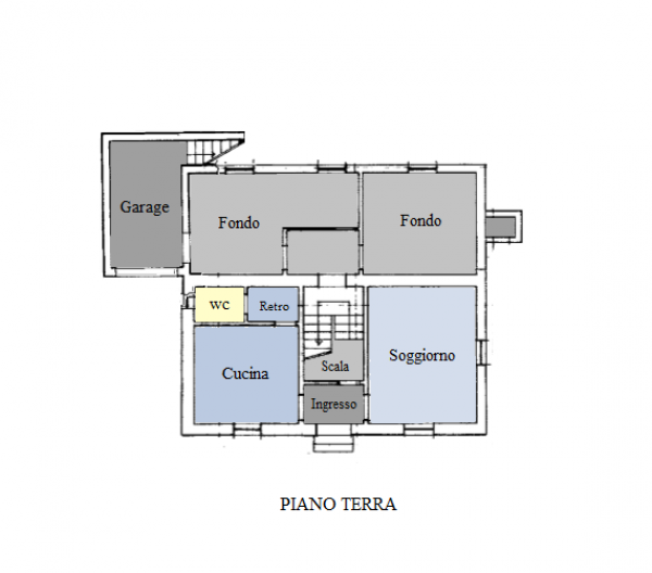 Casa indipendente in vendita a Trevi, Pigge, Con giardino, 180 mq - Foto 21