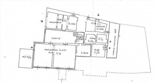 Appartamento in vendita a Castelnuovo Berardenga, Con giardino, 250 mq - Foto 2