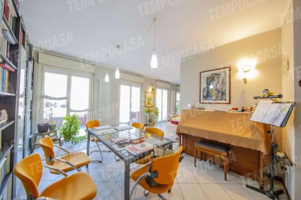Appartamento in vendita a Milano, Affori Centro, Con giardino, 120 mq - Foto 21
