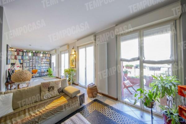 Appartamento in vendita a Milano, Affori Centro, Con giardino, 120 mq - Foto 22