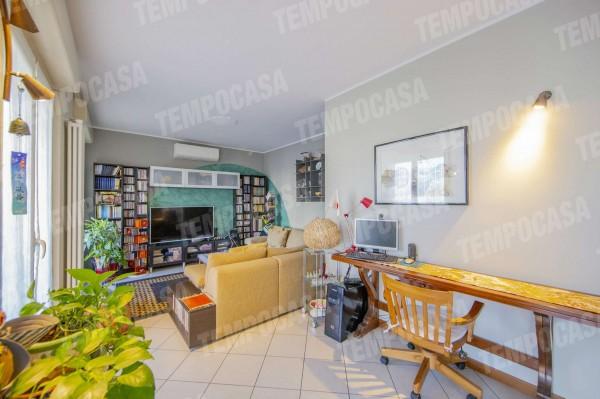 Appartamento in vendita a Milano, Affori Centro, Con giardino, 120 mq - Foto 19