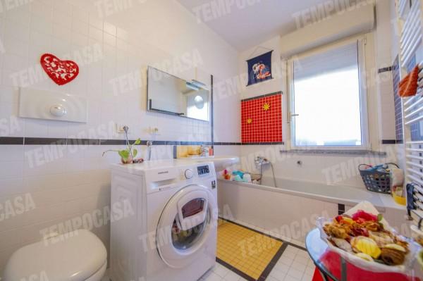 Appartamento in vendita a Milano, Affori Centro, Con giardino, 120 mq - Foto 12
