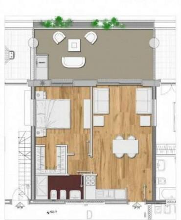 Appartamento in vendita a Roma, Casal Bertone, 57 mq