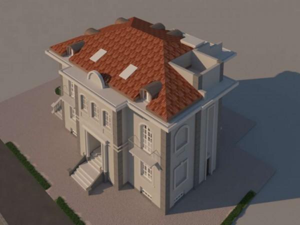 Villa in vendita a Torino, Con giardino, 685 mq