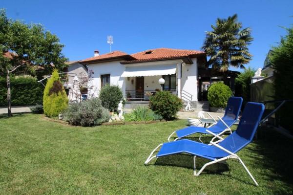 Villa in vendita a Alpignano, Centro, Con giardino, 130 mq