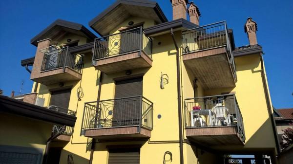 Appartamento in affitto a Pogliano Milanese, Semi Centrale, Arredato, con giardino, 55 mq