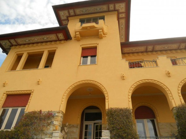 Villa in vendita a Zoagli, Marina Di Bardi, Con giardino, 400 mq