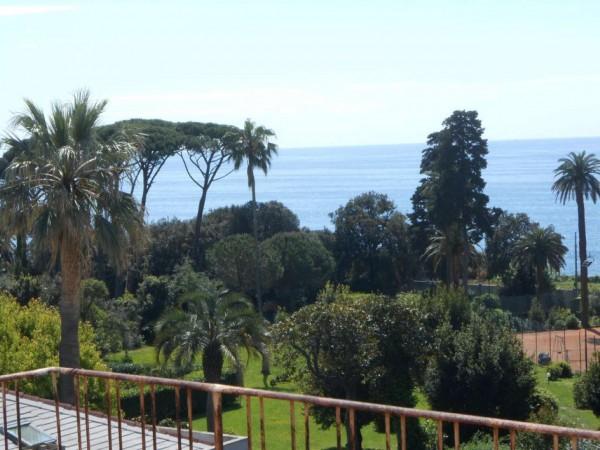 Appartamento in vendita a Genova, Passeggiata A Mare Di Nervi, Con giardino, 128 mq