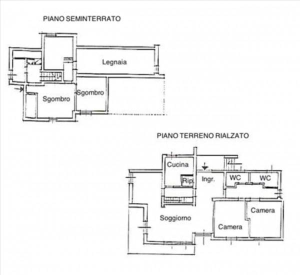 Villa in vendita a Monteriggioni, Con giardino, 300 mq