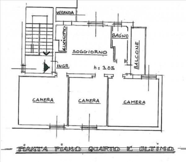 Appartamento in vendita a Siena, Arredato, 90 mq