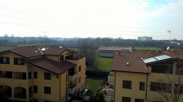 Appartamento in affitto a Corbetta, Semi-centrale, Con giardino, 90 mq