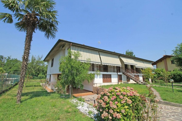 Villa in vendita a Basiano, Residenziale, Arredato, con giardino, 392 mq