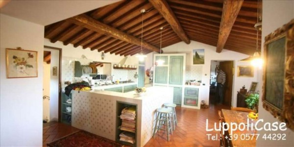 Villa in vendita a Sovicille, Con giardino, 450 mq - Foto 13