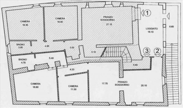 Villa in vendita a Monteriggioni, Con giardino, 1600 mq - Foto 16