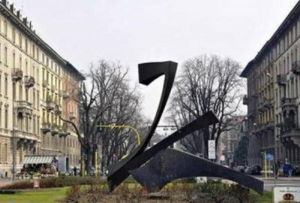 Appartamento in affitto a Milano, Conciliazione, Arredato, con giardino, 75 mq