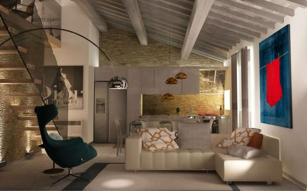 Casa indipendente in vendita a Campi Bisenzio, San Martino, Con giardino, 100 mq