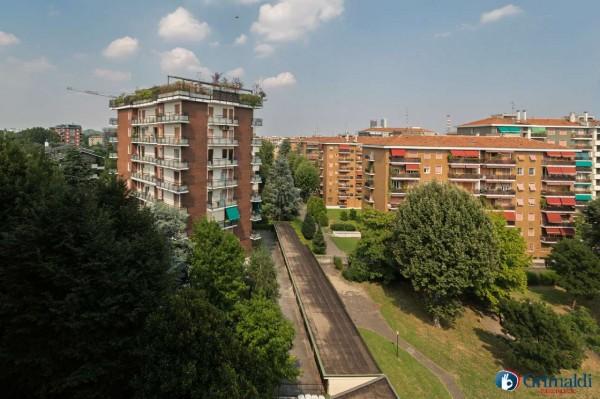 Appartamento in vendita a Milano, San Siro, Con giardino, 140 mq - Foto 11