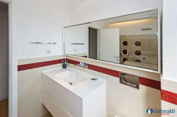 Appartamento in vendita a Milano, San Siro, Con giardino, 140 mq - Foto 9