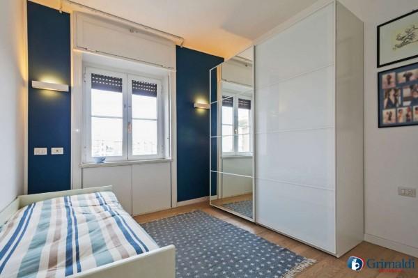 Appartamento in vendita a Milano, San Siro, Con giardino, 140 mq - Foto 20