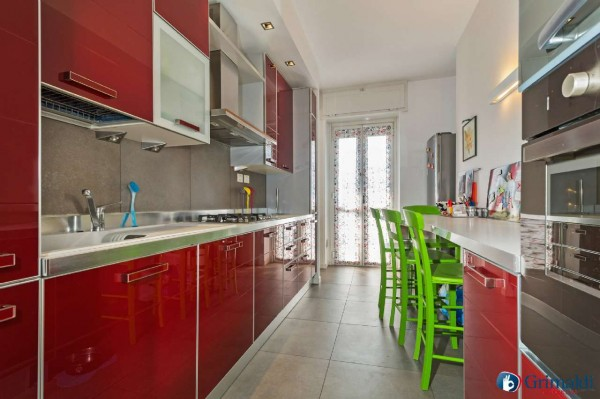 Appartamento in vendita a Milano, San Siro, Con giardino, 140 mq - Foto 24