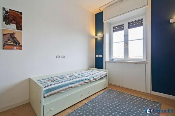 Appartamento in vendita a Milano, San Siro, Con giardino, 140 mq - Foto 19