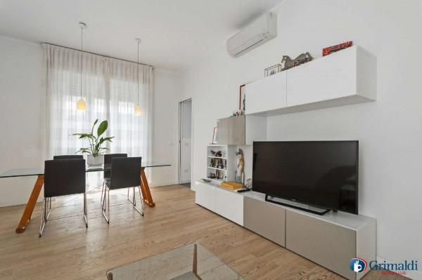 Appartamento in vendita a Milano, San Siro, Con giardino, 140 mq - Foto 25