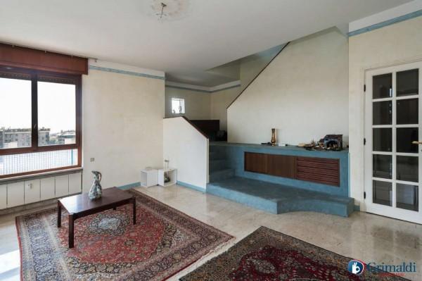 Appartamento in vendita a Milano, San Siro, Con giardino, 250 mq - Foto 24