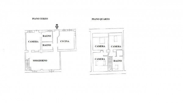 Appartamento in vendita a Milano, Con giardino, 200 mq - Foto 37