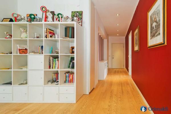 Appartamento in vendita a Milano, San Siro, Con giardino, 140 mq - Foto 28
