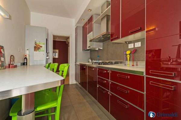 Appartamento in vendita a Milano, San Siro, Con giardino, 140 mq - Foto 23