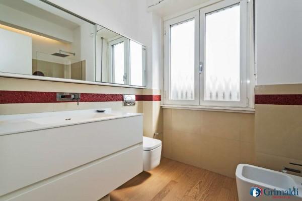 Appartamento in vendita a Milano, San Siro, Con giardino, 140 mq - Foto 18