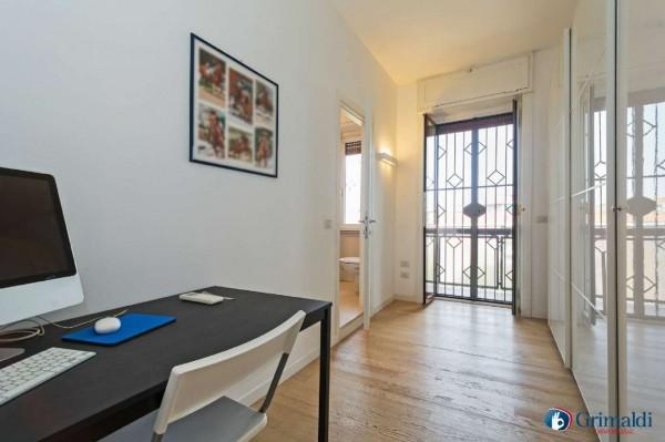 Appartamento in vendita a Milano, San Siro, Con giardino, 140 mq - Foto 8