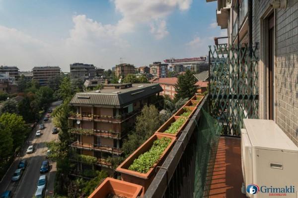 Appartamento in vendita a Milano, San Siro, Con giardino, 140 mq - Foto 15