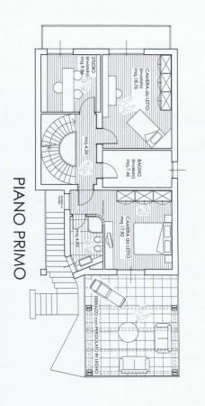 Villa in vendita a Forlì, Pianta, Con giardino, 226 mq - Foto 3