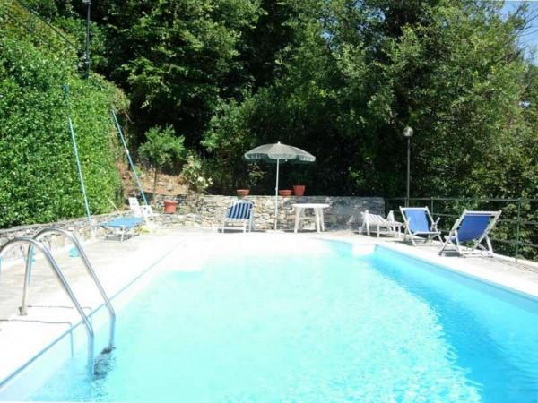 Villa in vendita a Santa Margherita Ligure, San Lorenzo Della Costa, Con giardino, 150 mq