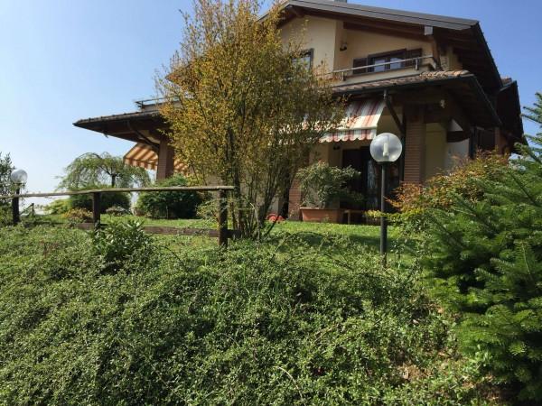 Villa in vendita a Besozzo, Bogno, Con giardino, 250 mq