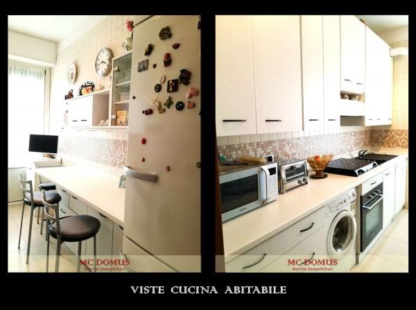 Appartamento in vendita a Milano, Bande Nere, Con giardino, 112 mq - Foto 22