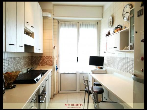 Appartamento in vendita a Milano, Bande Nere, Con giardino, 112 mq - Foto 23