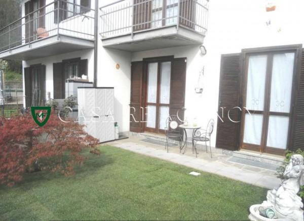 Villetta a schiera in vendita a Varese, Belforte-giubiano, Con giardino, 218 mq