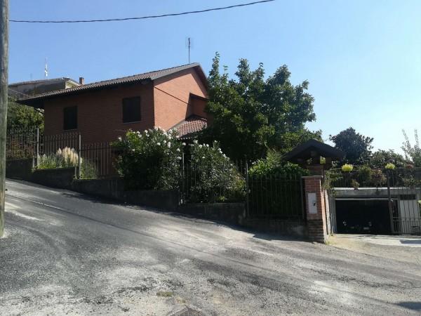 Villa in vendita a Roatto, Centro, Con giardino, 400 mq