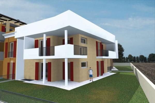 Appartamento in vendita a Travagliato, Vicino Al Centro, Con giardino, 145 mq
