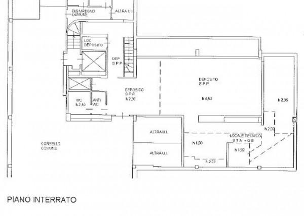 Ufficio in vendita a Milano, Lambrate, Con giardino, 275 mq - Foto 4