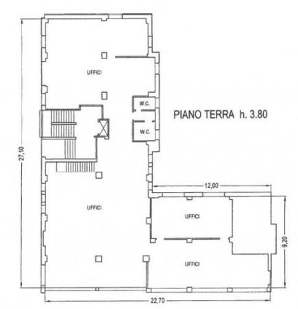 Ufficio in vendita a Bologna, Saffi, 311 mq - Foto 3